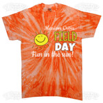 Field Day with Sun T-shirt Design