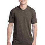 Young Mens Tri Blend V Neck Tee
