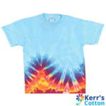 Bottom Wave Short Sleeve Tie Dyes