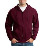 Jerzees NuBlend® Full Zip Hooded Sweatshirt 993M