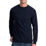 Long Sleeve Essential T Shirt with Pocket PC61LSP