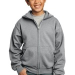 Youth Full Zip Hooded Sweatshirt PC90YZH