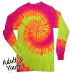 Long Sleeve Tie Dyes 2000