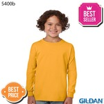 5400b Youth Heavy Cotton Long Sleeve T-Shirt