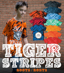 200TS Tiger Stripe Tie Dye T-Shirts
