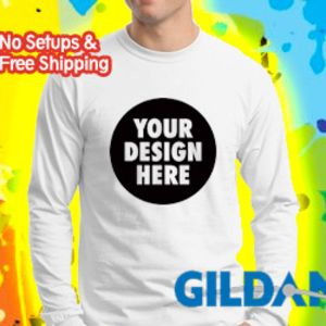Gildan Ultra Cotton ® 100% Cotton Long Sleeve T Shirt 2400 Thumbnail