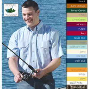 Men's Fishing Shirt Short Sleeves FSSS Thumbnail