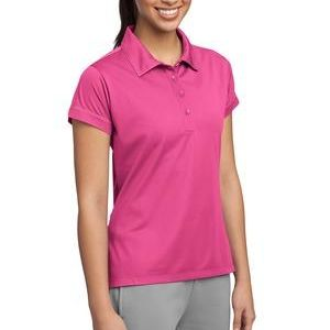 LST659 Ladies Contrast Stitch Micropique Sport Wick® Polo Thumbnail