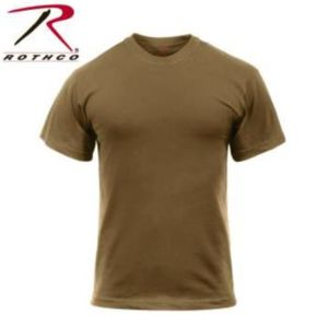 Rothco Solid Color 100% Cotton T-Shirt Thumbnail