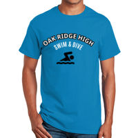 Swim & Dive T-shirt Design Thumbnail