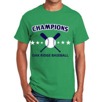 Baseball with bats t-shirt design Thumbnail