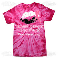 Kiss Breast Cancer Goodbye! - Team Design Thumbnail