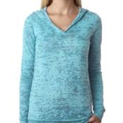 Ladies' Burnout Hoody Thumbnail