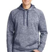 PosiCharge ® Electric Heather Fleece Hooded Pullover Thumbnail
