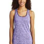 ® Ladies PosiCharge ® Electric Heather Racerback Tank Thumbnail