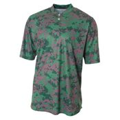 Camo 2-Button Henley Shirt Thumbnail