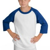 Youth Colorblock Raglan Jersey YT200 Thumbnail
