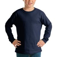 Youth Ultra Cotton ® Long Sleeve T Shirt 2400b Thumbnail