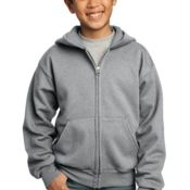 Youth Full Zip Hooded Sweatshirt Thumbnail