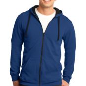 Young Mens The Concert Fleece™ Full Zip Hoodie Thumbnail