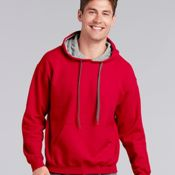 Heavy Blend Hooded Sweatshirt with Contrast Color Lining Thumbnail