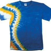 Maui Vertical Wave Short Sleeve Tie Dyes Thumbnail