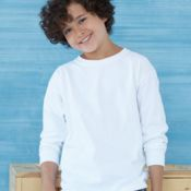 Ultra Cotton Youth Long Sleeve T-Shirt Gildan 2400B Thumbnail