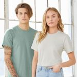 Bella + Canvas - Unisex Heather CVC Short Sleeve Tee 3001CVC Thumbnail