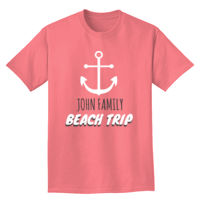 Anchor Family Beach Trip Design Thumbnail