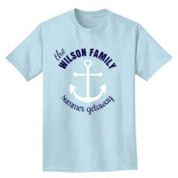 Anchor Summer Getaway T-shirt Design Thumbnail