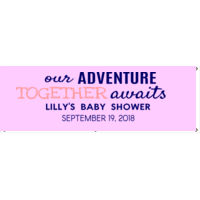 Baby shower banner Thumbnail