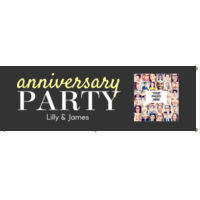 Anniversary Party Banner Thumbnail