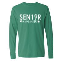 Senior Class Football T-shirt Design Thumbnail