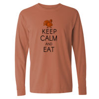 Keep Calm and Eat Turkey T-shirt Design Thumbnail