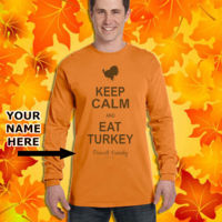Keep Calm and Eat Turkey - Family Name Design Thumbnail