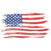 Art brush watercolor painting of USA flag blown in the wind isolated on white background  940030254 7869x3920 Thumbnail