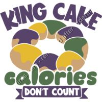 King Cake Calories Don't Count Thumbnail